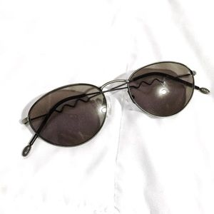 Fossil Vintage rounded small zig zag sunglasses